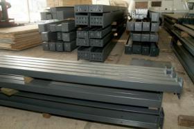 Foto 3 Stahlkonstruktion Stahlhalle Produktionshalle Gebrauchte Halle Flachdachhalle Gebrauchthalle