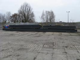 Foto 9 Stahlkonstruktion Stahlhalle Produktionshalle Gebrauchte Halle Flachdachhalle Gebrauchthalle