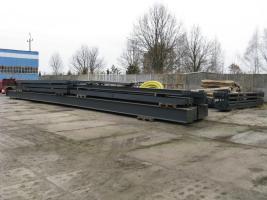 Foto 10 Stahlkonstruktion Stahlhalle Produktionshalle Gebrauchte Halle Flachdachhalle Gebrauchthalle