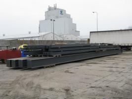 Foto 11 Stahlkonstruktion Stahlhalle Produktionshalle Gebrauchte Halle Flachdachhalle Gebrauchthalle