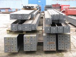 Foto 12 Stahlkonstruktion Stahlhalle Produktionshalle Gebrauchte Halle Flachdachhalle Gebrauchthalle