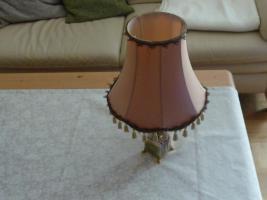 Standlampe, Stehlampe, Tischlampe- mit kl. Mamorfuß