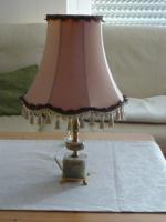 Foto 3 Standlampe, Stehlampe, Tischlampe- mit kl. Mamorfuß