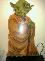 Star Wars Figuren aus Holz für Wände o.Schränke