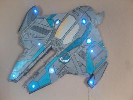 Foto 2 Star Wars Figuren aus Holz für Wände o.Schränke