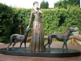 Statue authentisch Jugendstil Art Déco von Chiparus D