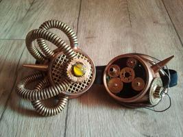 Steampunk, Gothic Goggle, Schweißerbrille