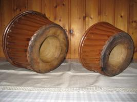 Foto 2 Steingut Backformen von Oma