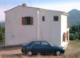 Steinhaus in der Mani/Griechenland
