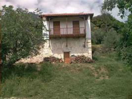 Steinhaus nahe der Stadt Sparta/Griechenland