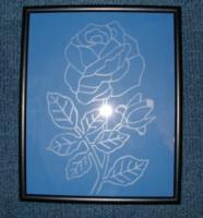 Stelle Geschenke her auf Glas und Holz