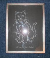Foto 8 Stelle Geschenke her auf Glas und Holz