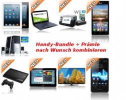 Stellen Sie sich ihr Wunsch Bundle selbst zusammen, iPhone, Nokia, Samsung + TV, Laptop, iPad uvm.