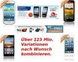 Foto 2 Stellen Sie sich ihr Wunsch Bundle selbst zusammen, iPhone, Nokia, Samsung + TV, Laptop, iPad uvm.