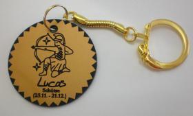 Foto 8 Sternzeichen - Schlüsselanhänger mit Wunschnamen