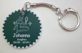 Foto 11 Sternzeichen - Schlüsselanhänger mit Wunschnamen
