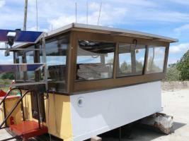 Steuerhaus für Motorschiff