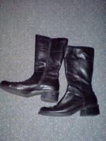 Stiefel schwarz 42