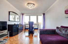 Stilvoll eingerichtetes Apartment (inkl.Internet u. Balkon )
