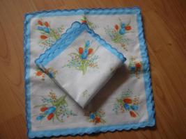 Foto 4 Stoff Taschentücher