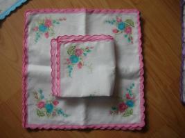 Foto 5 Stoff Taschentücher
