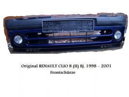 Stoßstange inkl. Nebelscheinwerfer Original Renault Clio 2 Bj.1998-2001 Blaum.