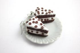 Straciatella Kuchen Ohrringe