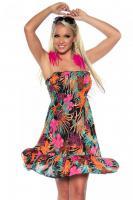 Strand-Kleid Bandeaukleid