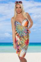 Foto 2 Strand-Kleid bunt Gr. OS (Einheitsgröße) - OVP - NEU