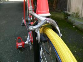 Foto 17 Straßenrennrad von BIANCHI , 18 Gang - Kette von SHIMANO - EXAGE
