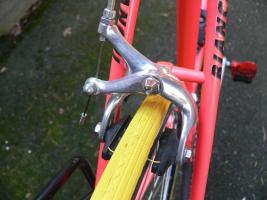Foto 18 Straßenrennrad von BIANCHI , 18 Gang - Kette von SHIMANO - EXAGE