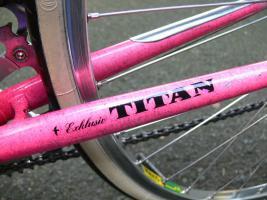 Foto 10 Straßenrennrad von TITAN ,14 Gang - Kette von SHIMANO - EXAGE 300
