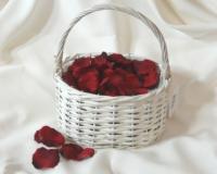 Streukörbchen oval für Ihre Hochzeit