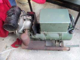 Foto 2 Stromaggregat von (NVA)Motorflaschenzug , Flaschenzug