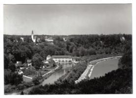Burg Grünwald Blick auf Pullach