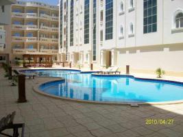 Studio oder 2-3 Zimmerwohnung mit Pool, Security 5 Min zum Strand Hurghada Ägypten