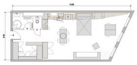 Studiowohnung 80m² in Mödling