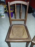 Stühle aus dem Jahr 1940