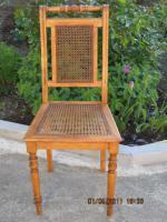 Foto 2 Stühle, Rattan, Antikstuhl