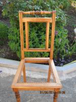 Foto 3 Stühle, Rattan, Antikstuhl
