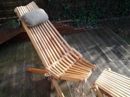 stuhl liege relax in rietberg erle holz klappstuhl. Black Bedroom Furniture Sets. Home Design Ideas