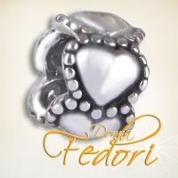 Style Bead 5 Herzen 925 Sterling Silber