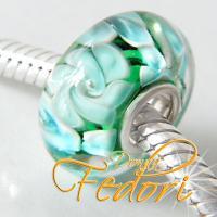 Style Bead Blaue Blumenwiese