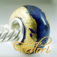 Style Bead Blauer Goldschatz