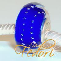 Style Bead Blue Bubble