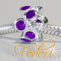 Style Bead Di Vio 925 Sterling Silber, Zirkonia