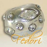 Style Bead Dream Star 925 Sterling Silber, Zirkonia