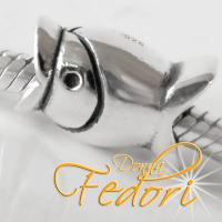 Style Bead Fisch 925 Sterling Silber