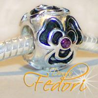 Style Bead Florina 925 Sterling Silber, Zirkonia
