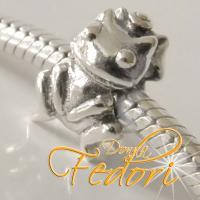 Style Bead Froschkönig 925 Sterling Silber
